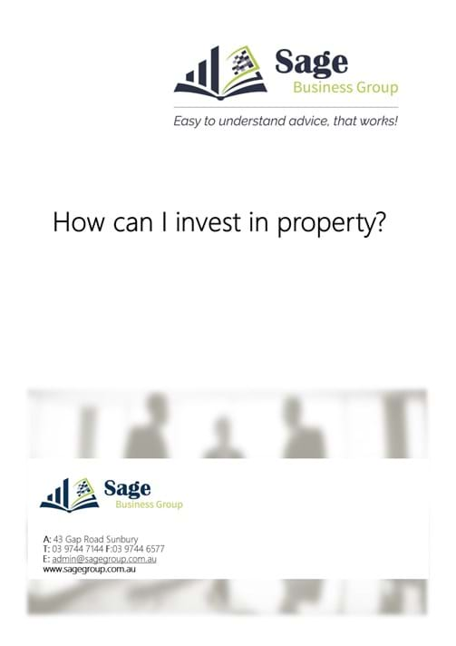 How can I invest in property?